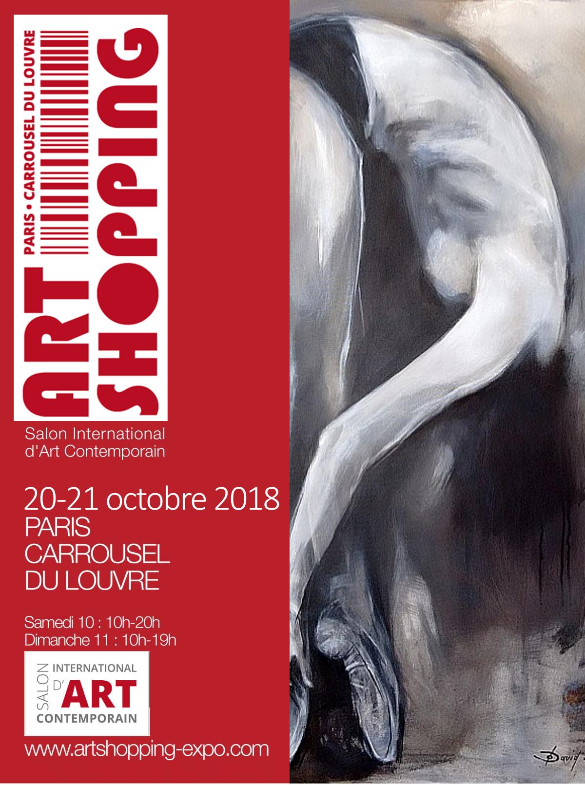 Olga David stellt bei Art Shopping Carrousel du Louvre aus