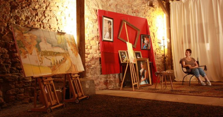 Kulturtage mit historischer Porträtmalerei und Bilderausstellung
