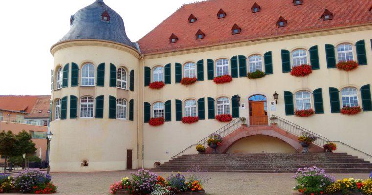 Gemälde in der Schlosshalle Bad-Bergzabern