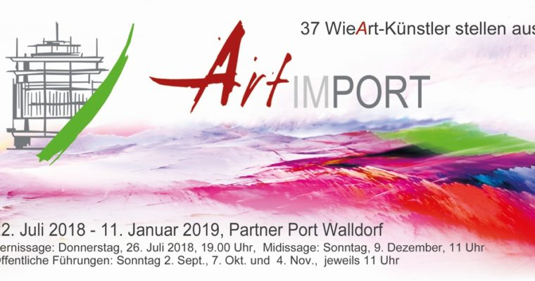 Olga David stellt im Partner Port Walldorf aus