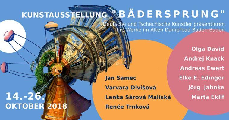 """Ausstellungsprojekt """"Bädersprung"""" für deutsch-tschechischen Kulturaustausch"""