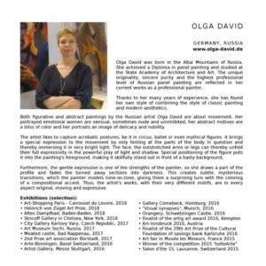 Katalog Biografie Olga David 2018