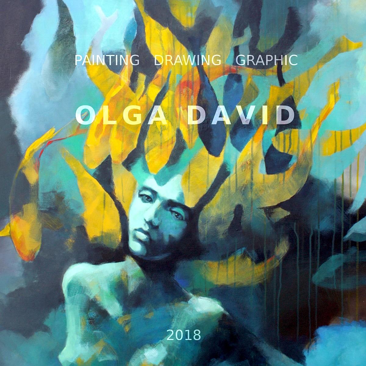 Katalog Olga David Painting Drawing Graphic 2018