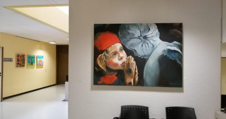 Porträts und Landschaften von Olga David im Rathaus Rülzheim