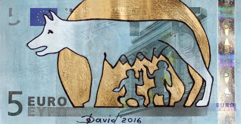 5 Euroschein von Olga David