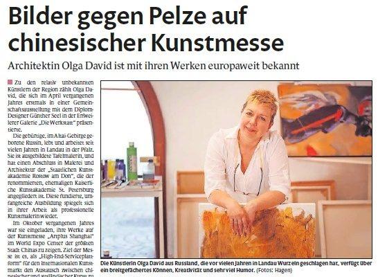 Olga David – Künstler der Region Rhein-Neckar