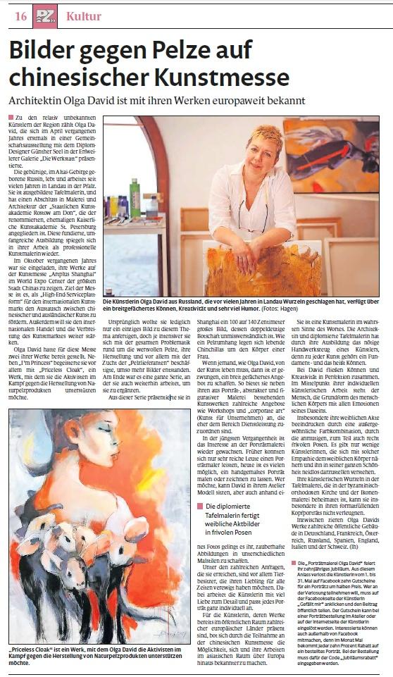 Olga David - Künstler der Region Rhein-Neckar
