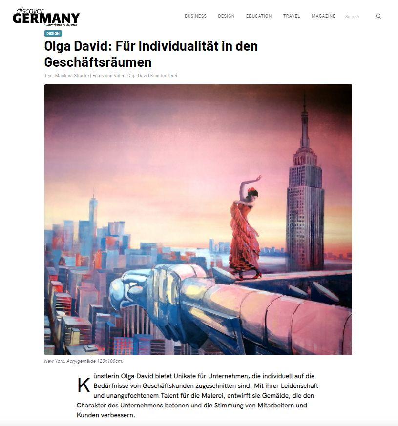 Olga David für Individualität in den Geschäftsräumen