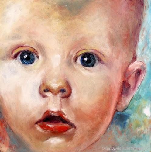 Baby Portrait my-circle-2 olga david