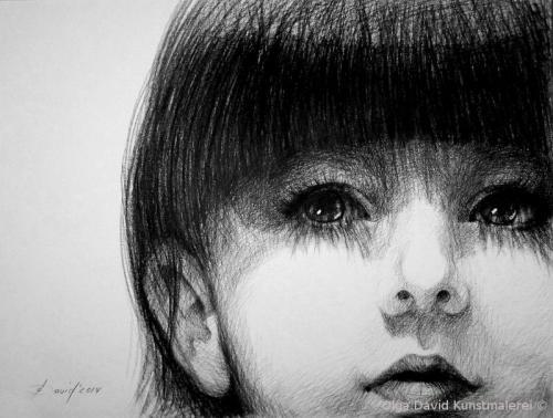Portrait eines Mädchen